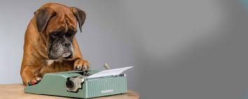 dog typing