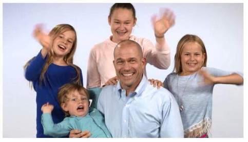 tom and kids